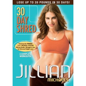 Jillian Michaels 30 Day Shred only $7.16 shipped! (This works!!!)