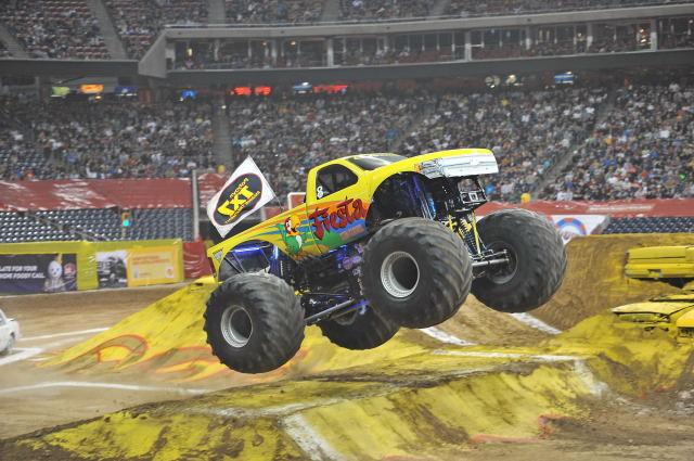 MONSTER JAM returns to Salt Lake City for more car-crushing monster truck action on February 14-16!