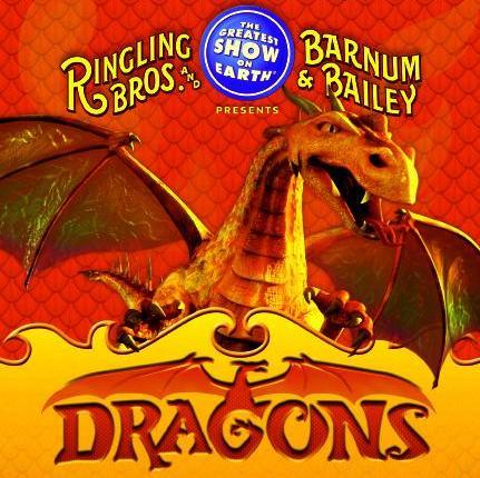 Ringling Bros and Barnum & Bailey presents DRAGONS in Salt Lake City, Utah