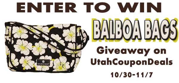 GIVEAWAY: Balboa Bags Messenger Bag
