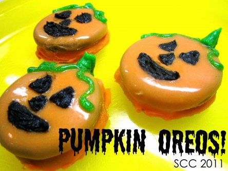Halloween Oreo Cookie Pumpkins Recipe