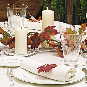 14 Days to an Easy Thanksgiving – Day 5: Plates, Silverware, and Glasses