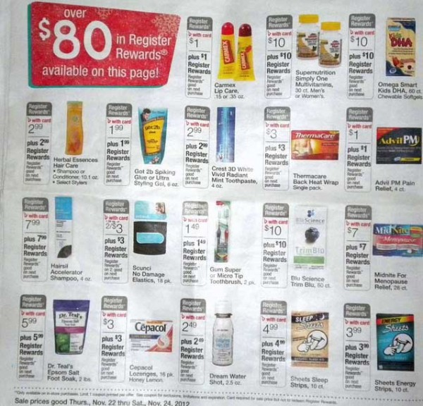 Walgreens Black Friday Ad 2012 + HOT MONEY MAKING DEALS!