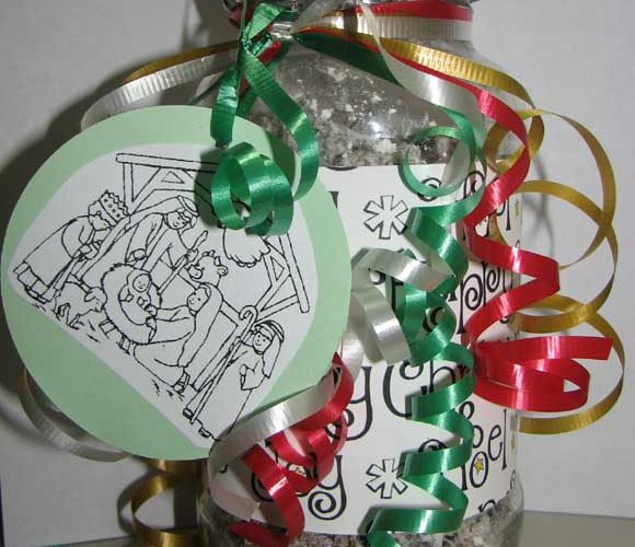 DIY Homemade Christmas Treat Gifts Jar