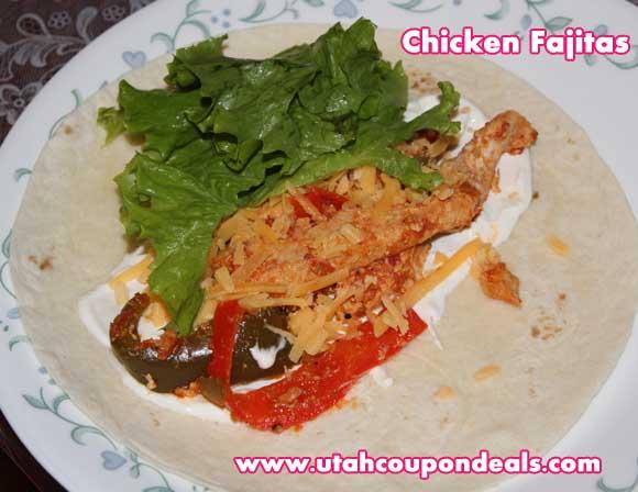 Vegetable and Chicken Fajita Recipe