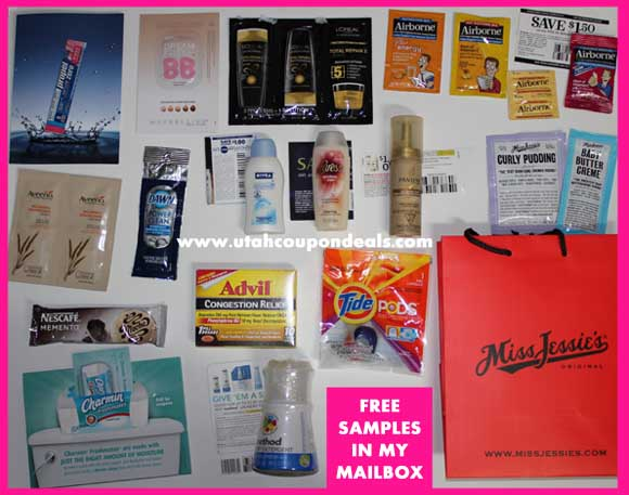 Free Samples in my Mailbox (Mailbox Monday) 2/25/13