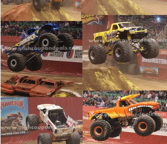 Monster Jam 2013 in Salt Lake City