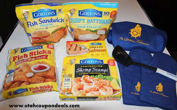 Gorton's Seafood Review and Giveaway