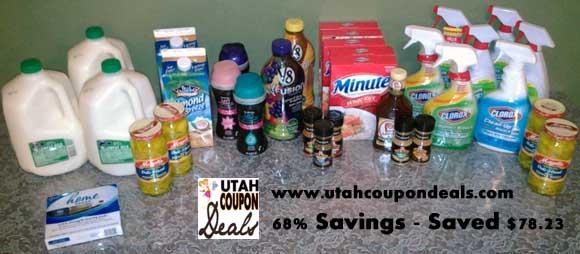 Smith's Coupon Shopping Trip 4/23/13 (saved $78.23) 68% Savings!