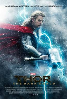 Thor The Dark World (Thor 2) Trailer and Poster!