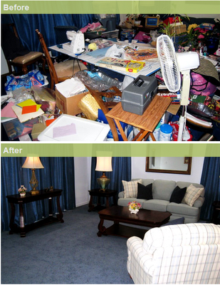 3 Spring Cleaning Tips To De Clutter Your Living Room