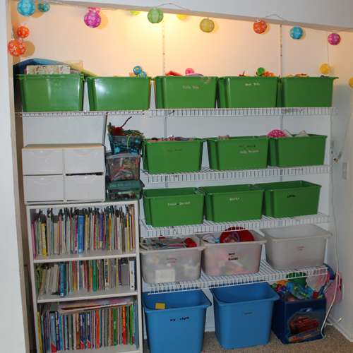 DIY: How to organize a room – Kids Play Room