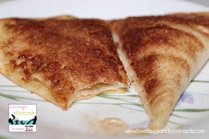 15 minute Apple Turnover  #recipe