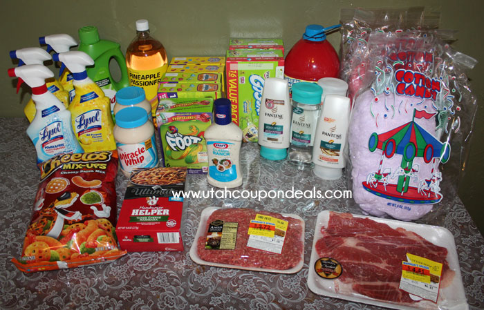 Smith's Shopping Trip – 8/13 – Spent $38.63  Saved $53.09