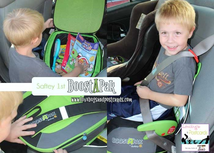 GIVEAWAY: Safety 1st BoostAPak Booster Seat (ends 9/24)