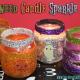 Halloween Candle Sparkle Jars