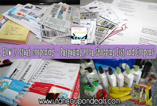 how to start couponing