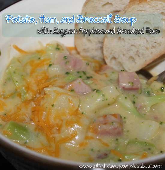 Potato, Ham, and Broccoli Cheese Soup Recipe - Lovebugs and Postcards