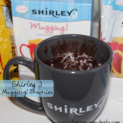 Shirley J Mugging Cake in a Mug and Cookie Mixes Review