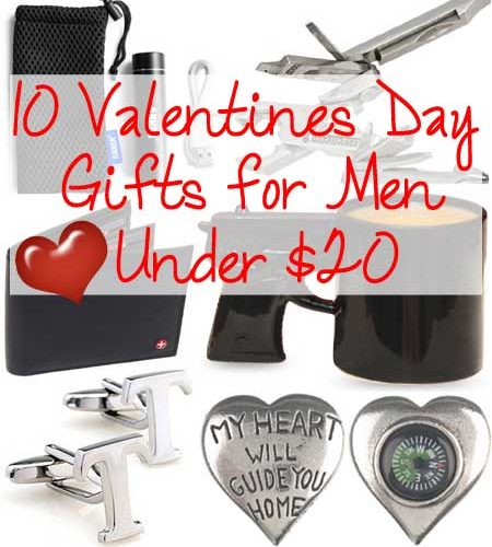 10 Valentines Day Gifts for Men under $20