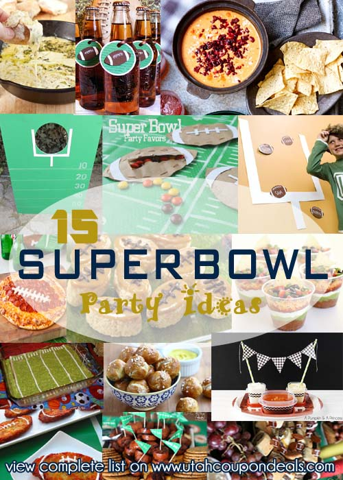 15 Super Bowl Party Ideas Food Games Drinks Decorations