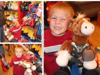Build-A-Bear Workshop Review - Thor Horse