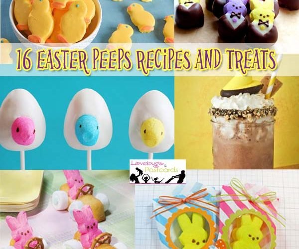 16 Easter Peeps Recipes and Treats {fun and easy ideas}