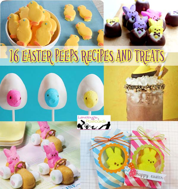 16 Easter Peeps Recipes and Treats