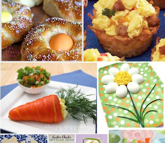 Egg Recipes for Easter {uses for leftover #Easter eggs}