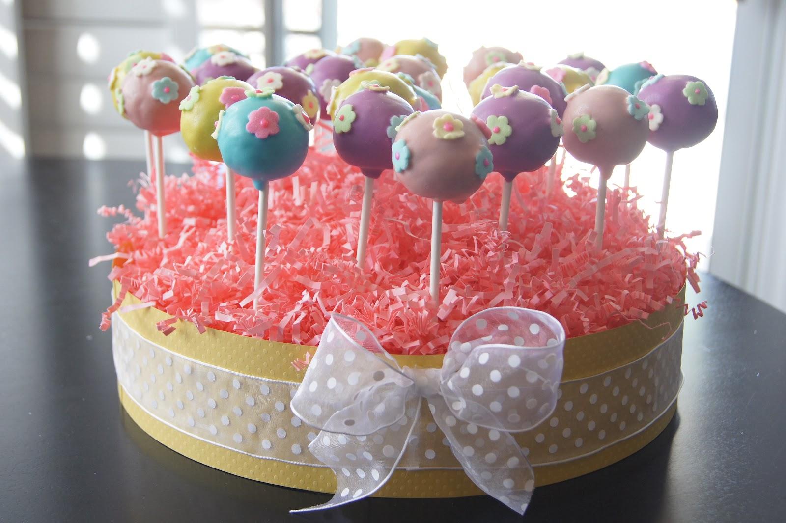 Christmas cake pop holder ideas