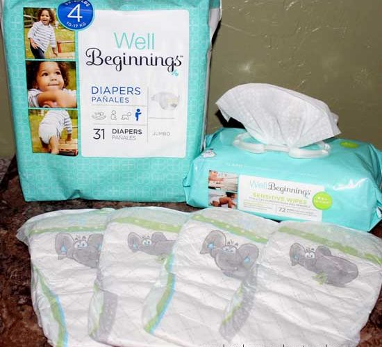 Well Beginnings Diapers are great for all day {and night} protection #WellBeginnings