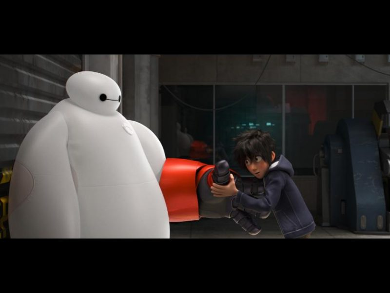 Big Hero 6 Baymax and Hiro