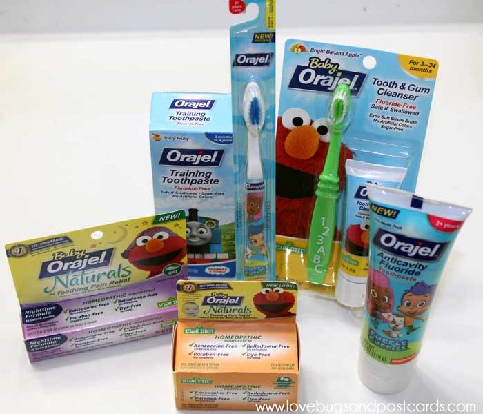 Orajel Kids Products