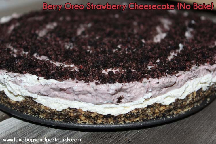 No Bake Strawberry Oreo Cheesecake Recipe — Dishmaps