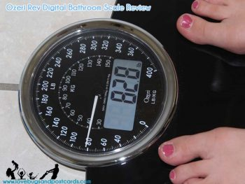 Ozeri Rev Digital Bathroom Scale Review