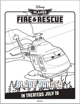 Planes: Fire and Rescue Coloring Pages #FireAndRescue