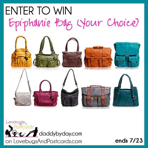 Epiphanie Bag Giveaway (Your Choice)