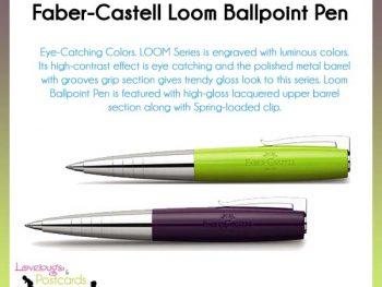 Faber-Castell Loom Plum Ballpoint Pen