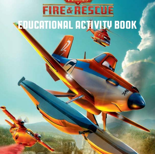 Planes Fire and Rescue Activity Book About Fire Safety