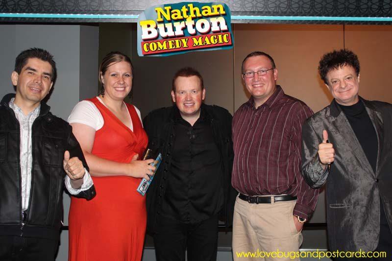 The Nathan Burton Comedy Magic Show in Las Vegas