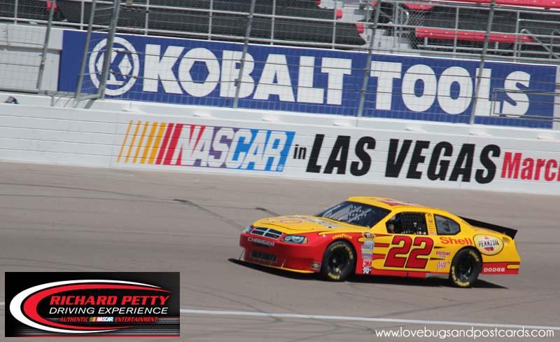 Richard Petty Driving Experience At The Las Vegas Motor