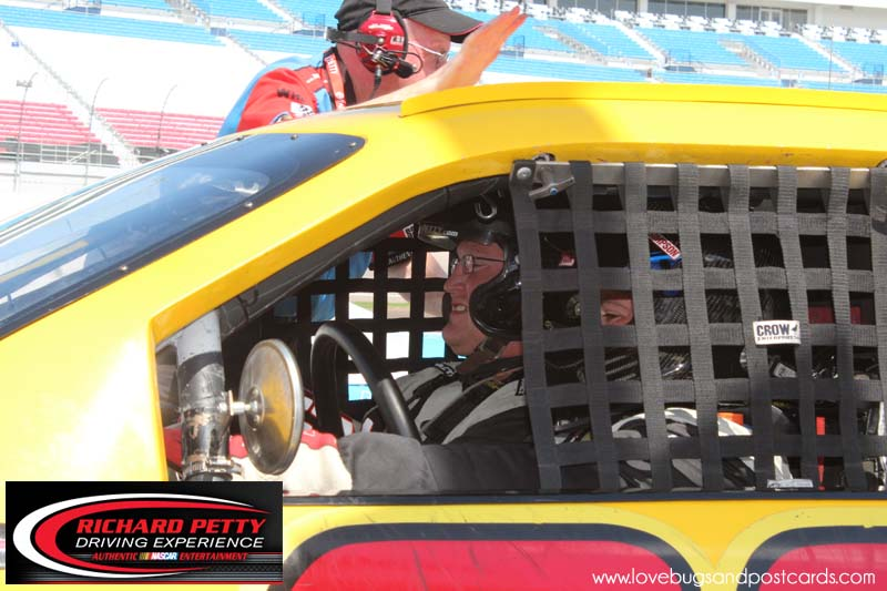 richard petty driving experience at the las vegas motor