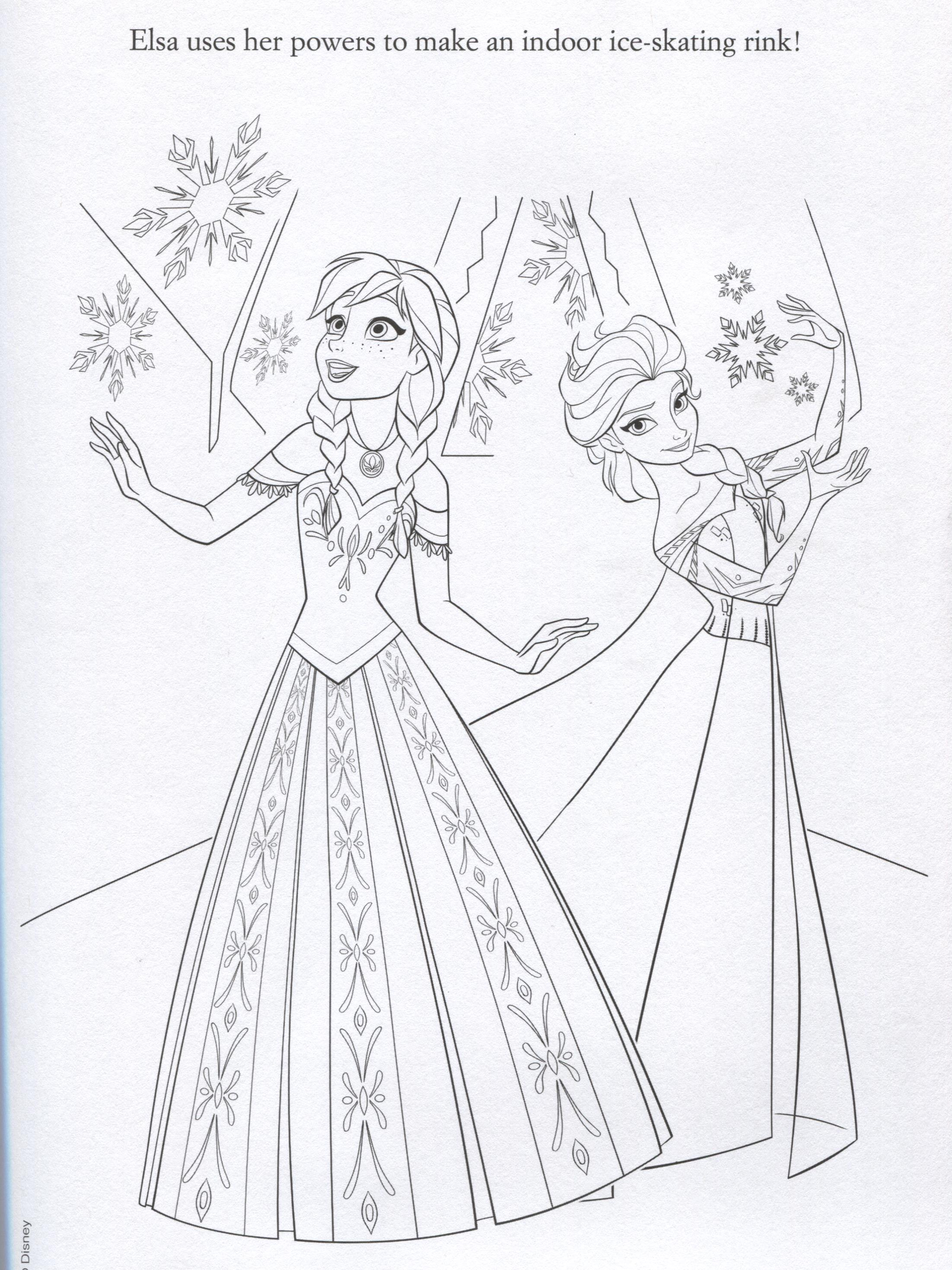 Anna Elsa And Frozen Coloring Pages Of Wedding Anna Best