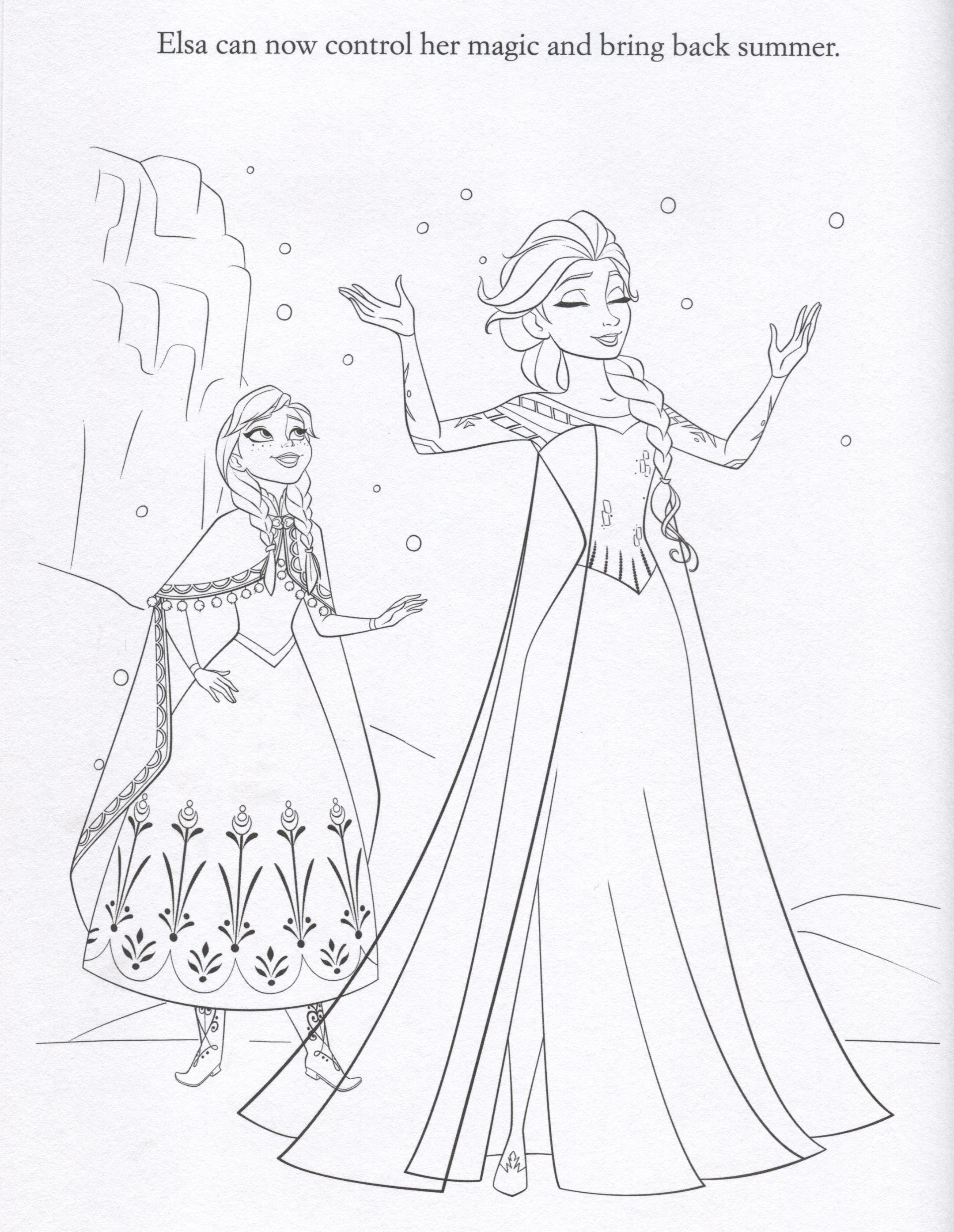 Frozen 2 coloring pages - Coloring Sheets On Pinterest Frozen Pages 1944x2617 Free