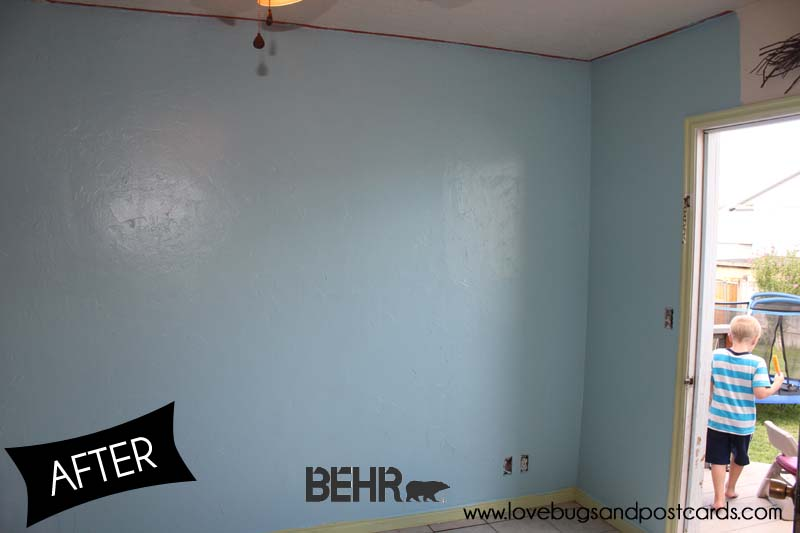 Behr marquee paint review and our kitchen makeover lovebugs and postcards - Behr kitchen paint ...