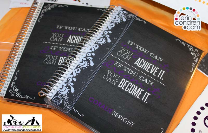 Erin Condren Life Planner and Note Book