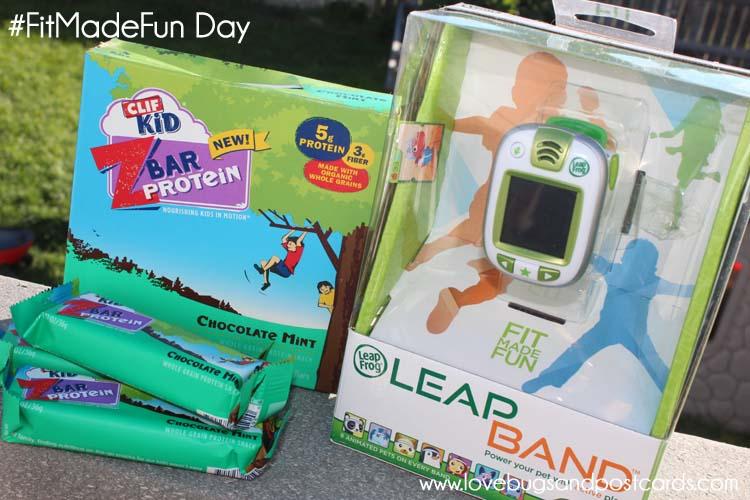 CLIF Kid ZBar Protein #FitMadeFun Day