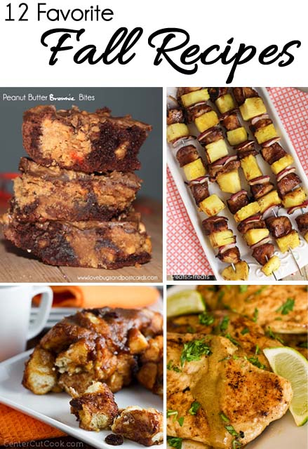 12 Favorite Fall Recipes