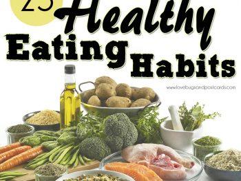25 Healthy Eating Habits