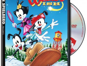 Steven Spielberg Presents Animaniacs: Wakko's Wish on DVD